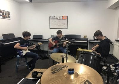 guitar band session